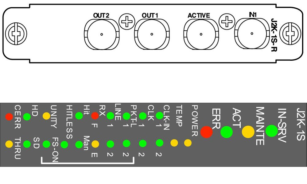 Md8000 - Jpeg2000 Encoder  Decoder Video Module
